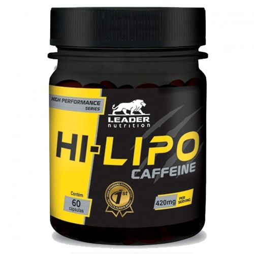 Hi-Lipo Caffeine 60caps - Leader Nutrition  - Personall Suplementos
