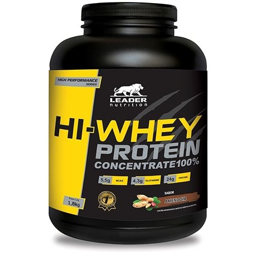 Hi-Whey Protein 1,8Kg - Leader Nutrition  - Personall Suplementos