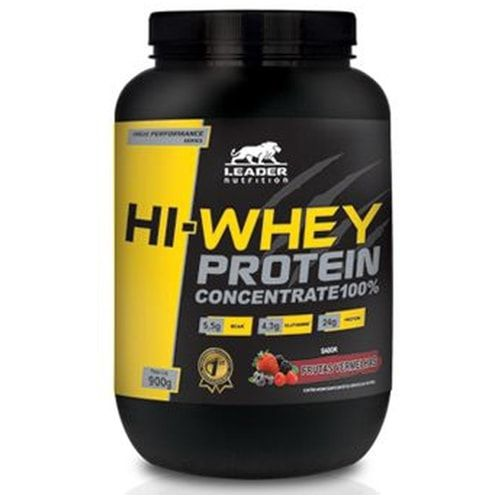 Hi-Whey Protein 900g - Leader Nutrition  - Personall Suplementos