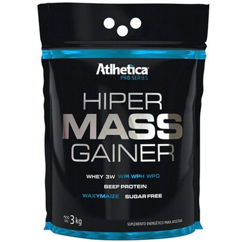 Hiper Mass Gainer 3kg - Atlhetica Nutrition   - Personall Suplementos