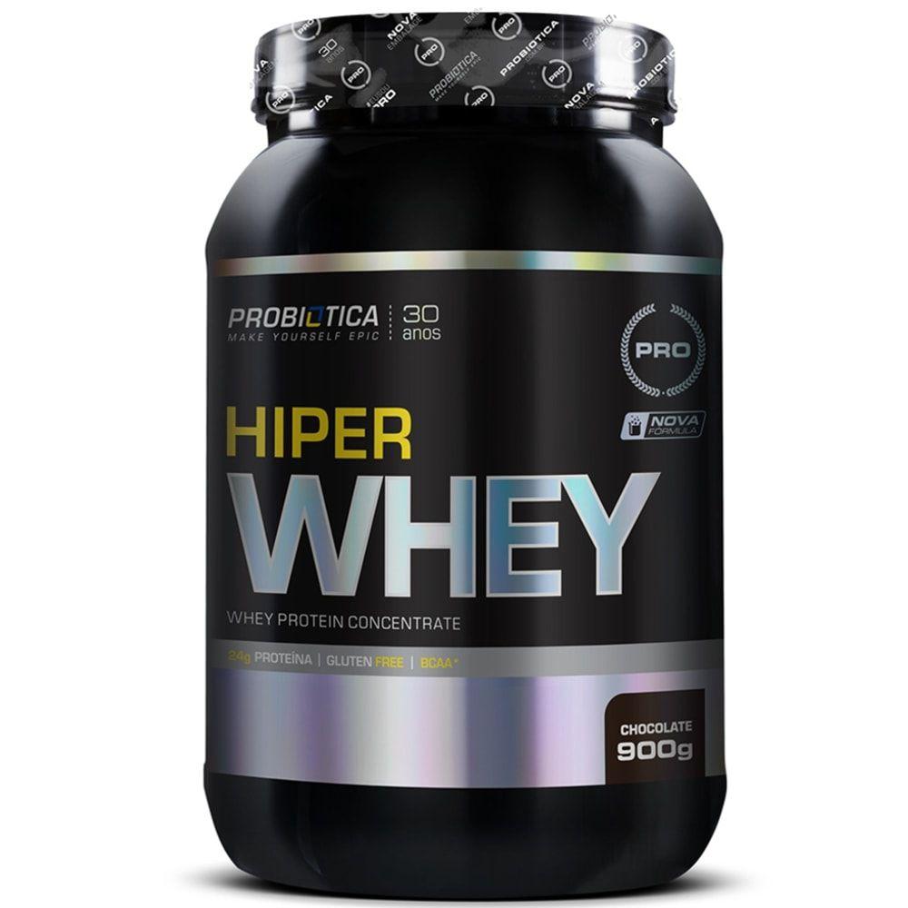 Hiper Whey 900g - Probiotica   - Personall Suplementos