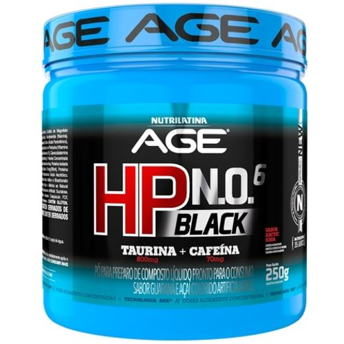HP BLACK 250g - Nutrilatina Age  - Personall Suplementos