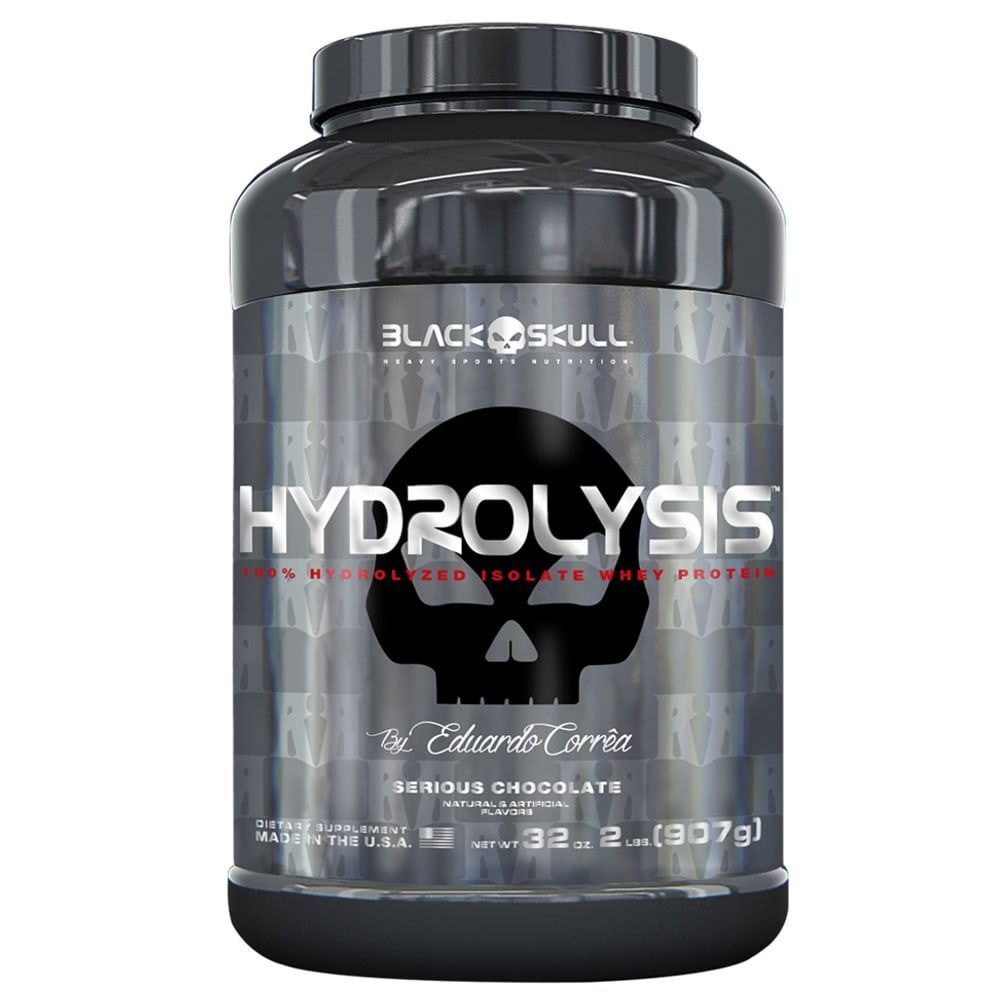 Hydrolysis 907g - Black Skull   - Personall Suplementos