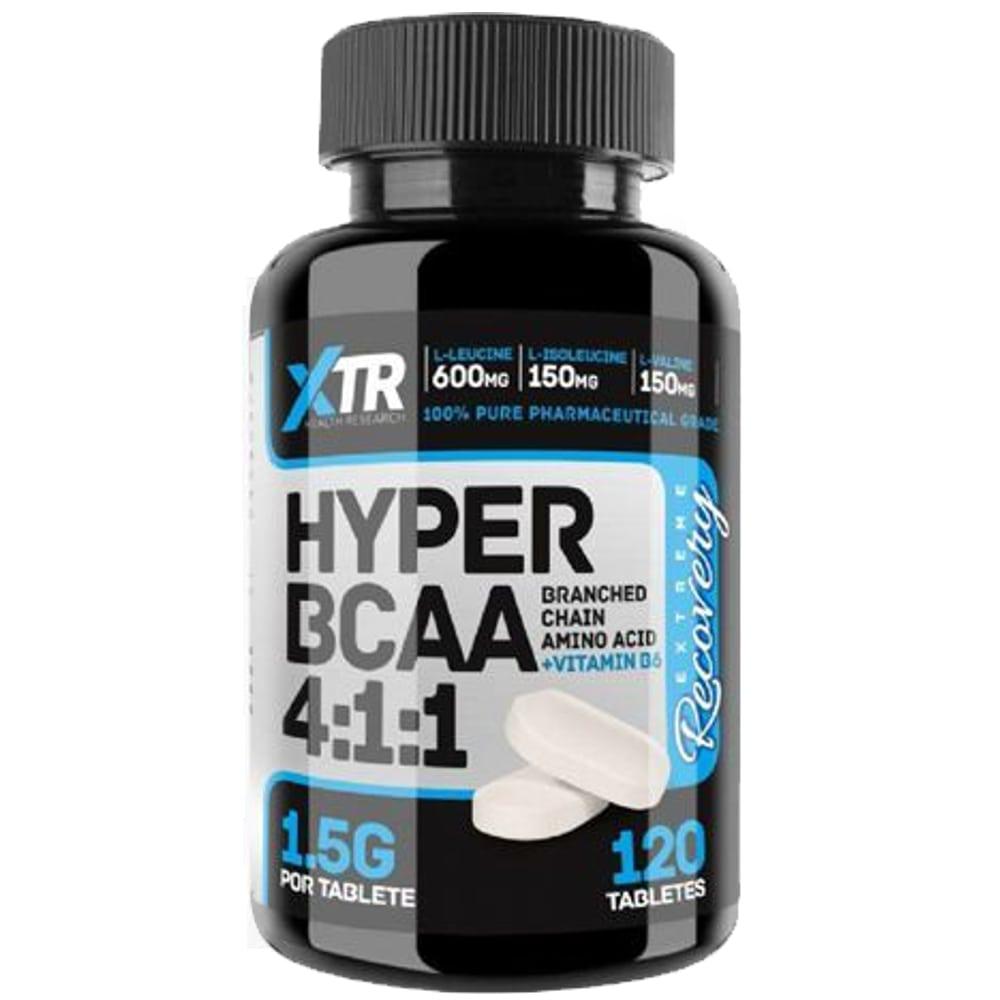 Hyper BCAA 4:1:1 120tabs - XTR  - Personall Suplementos