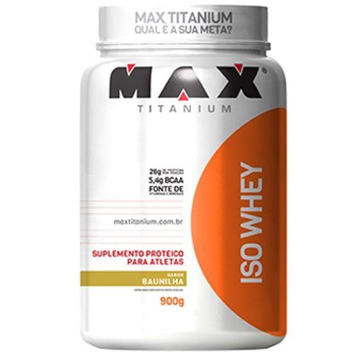 Iso Whey 900g - Max Titanium  - Personall Suplementos