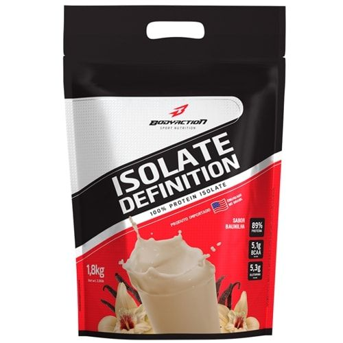 Isolate Definition 1,8kg - Body Action  - Personall Suplementos