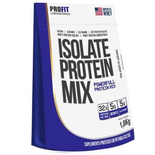 Isolate Protein Mix Refil 1,8kg - Profit    - Personall Suplementos