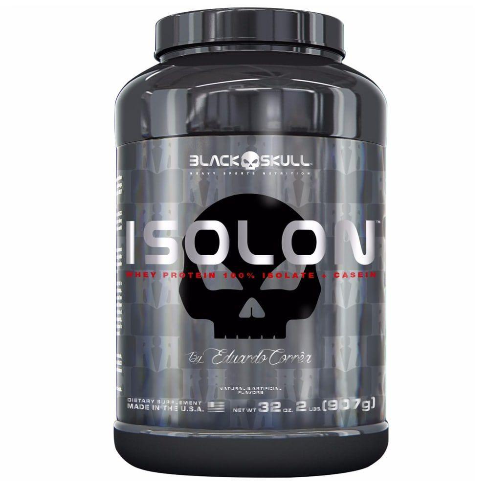 Isolon 907g - Black Skull   - Personall Suplementos