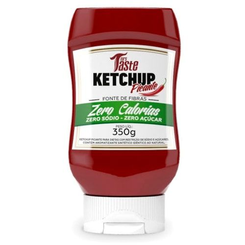 Ketchup Picante 350g - Mrs Taste  - Personall Suplementos