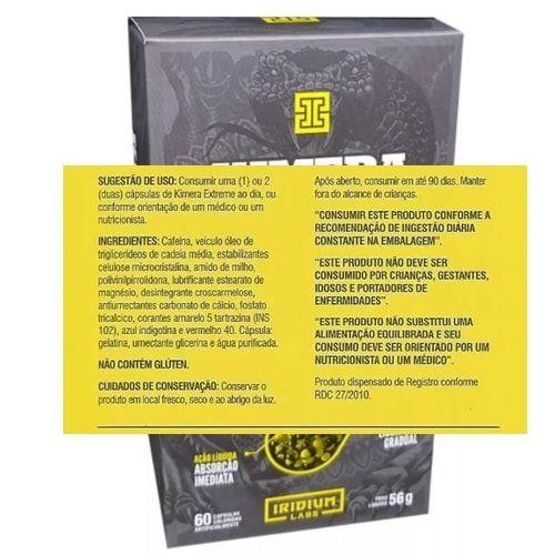 Kimera Extreme 60caps - Iridium Labs  - Personall Suplementos