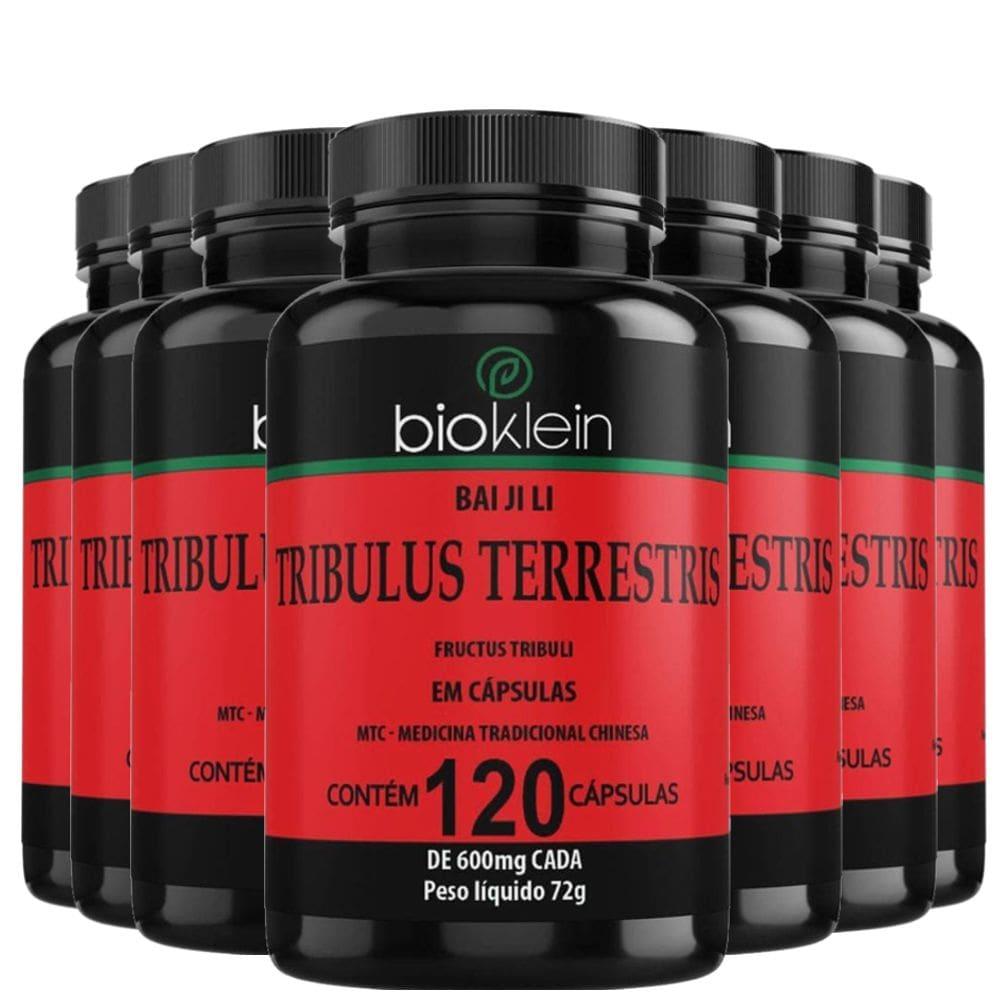 Kit 10x Tribulus Terrestris 120 cápsulas - Bioklein