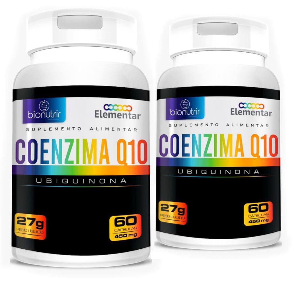 KIT 2x Coenzima Q10 (Ubiquinona) 100mg 60 Cápsulas - Bionutrir