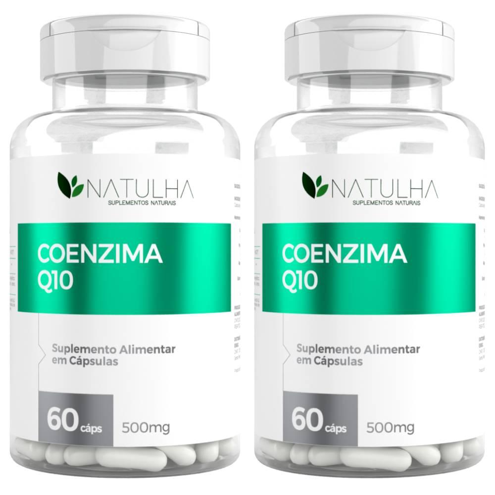KIT 2x Coenzima Q10 (Ubiquinona) 60 Cápsulas - Natulha