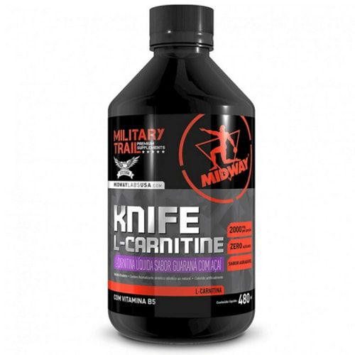 Knife L-Carnitine 480ml - Military Trail  - Personall Suplementos