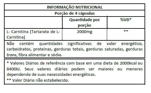 L-Carn 60 caps - Integralmedica  - Personall Suplementos