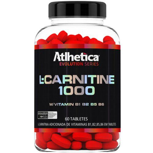 L-Carnitine 1000 60tabs - Atlhetica Nutrition  - Personall Suplementos