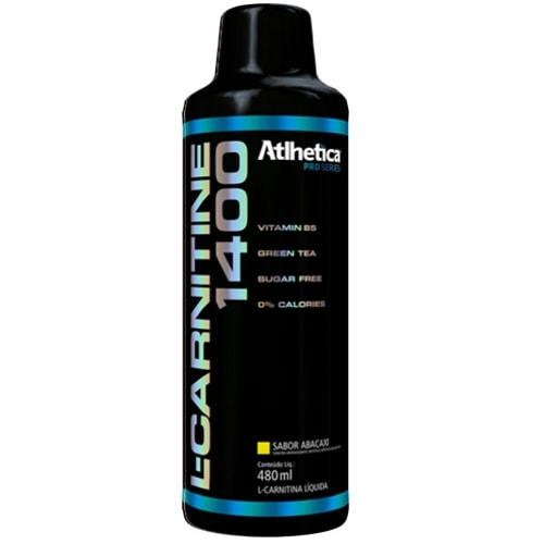 L-Carnitine 1400 480ml - Atlhetica Nutrition  - Personall Suplementos