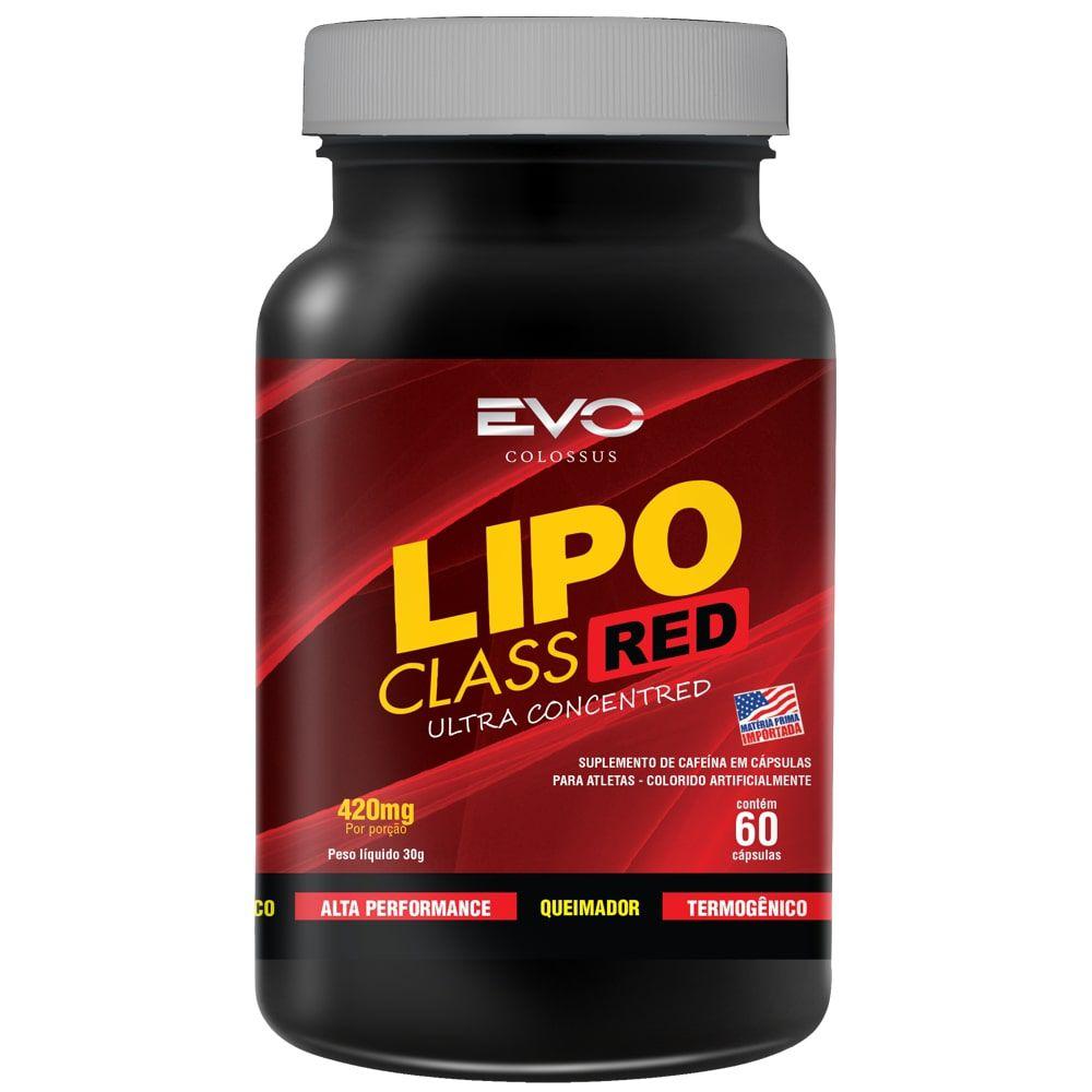 Lipo Class Red 60 cápsulas - Evo Colossus  - Personall Suplementos