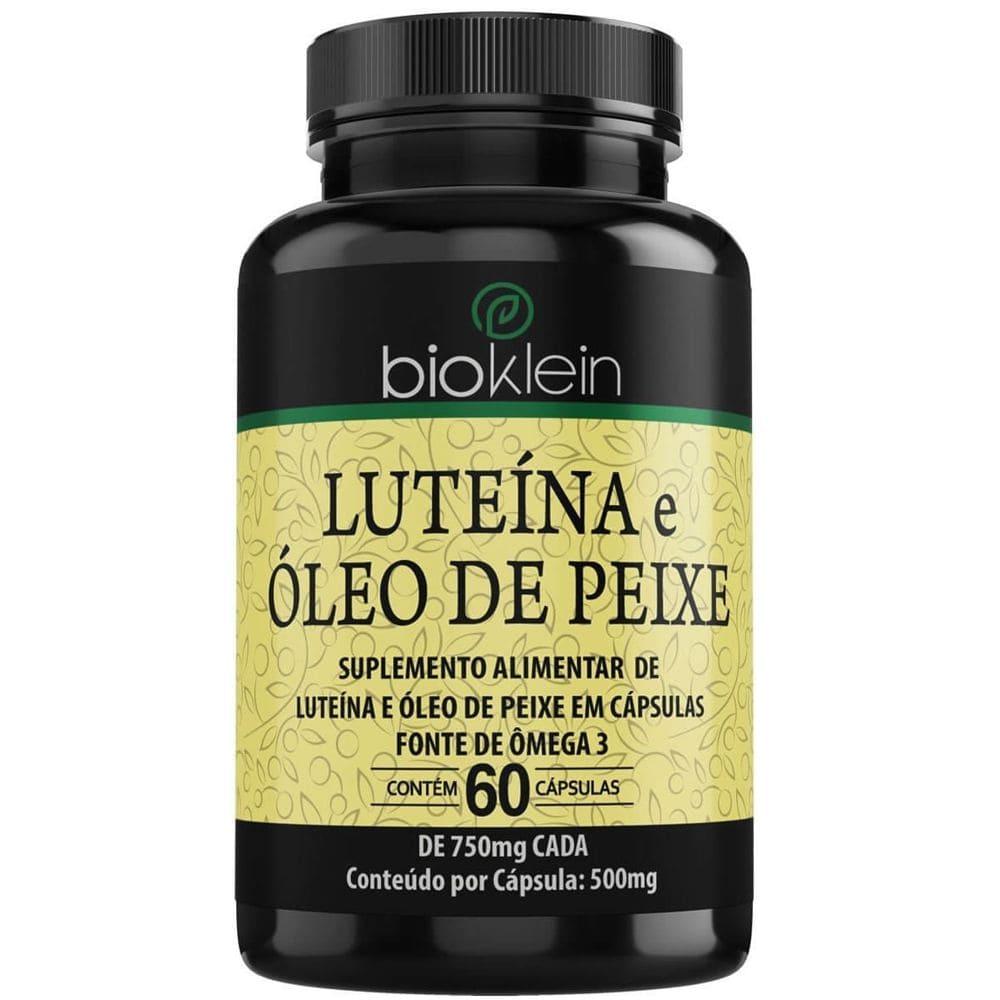 Luteína, Zeaxantina e Óleo de Peixe 60 cápsulas - Bioklein