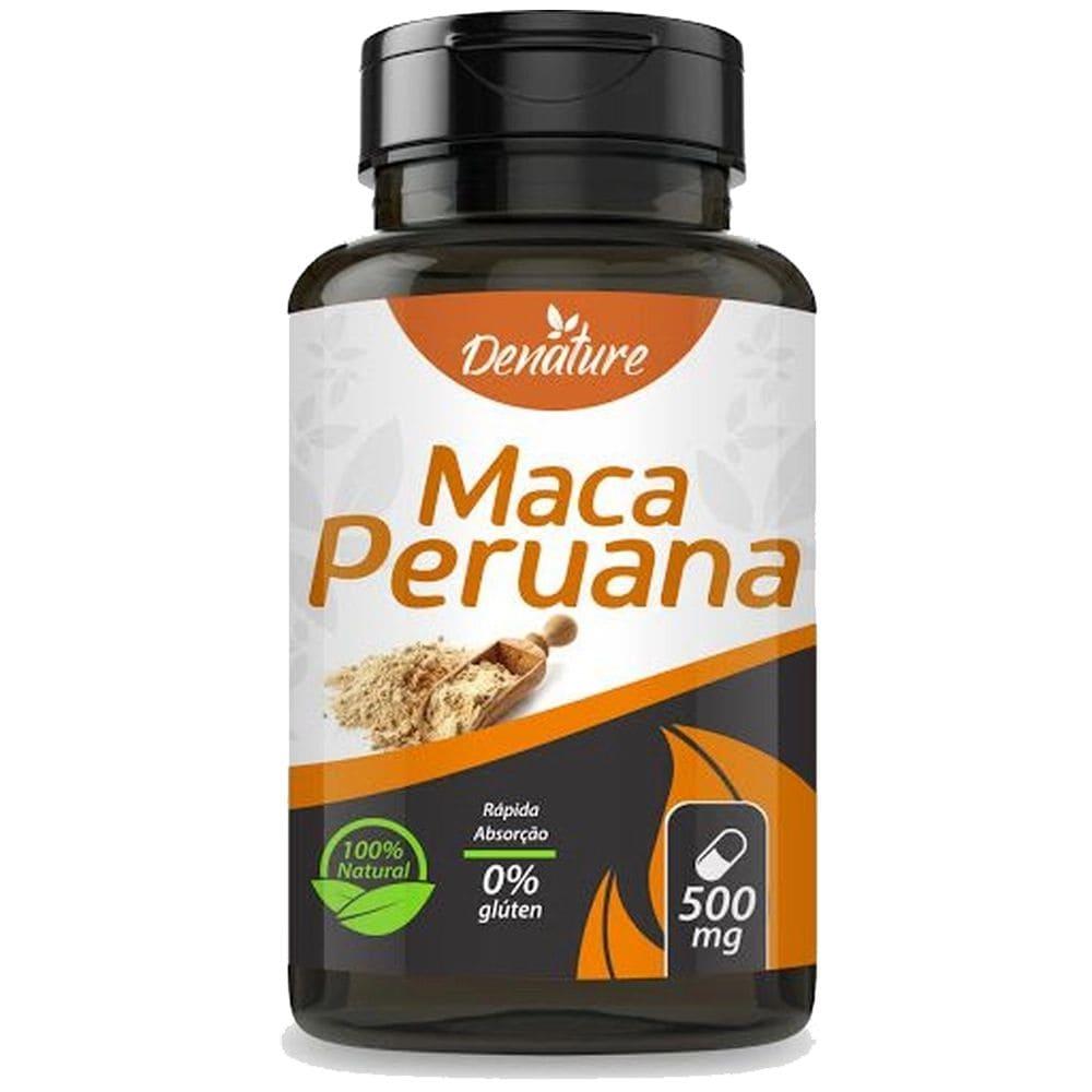 Maca Peruana 100 cápsulas - Denature