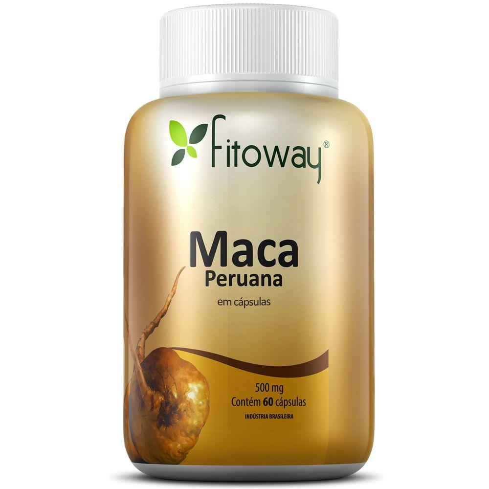 Maca Peruana 60 cápsulas - Fitoway