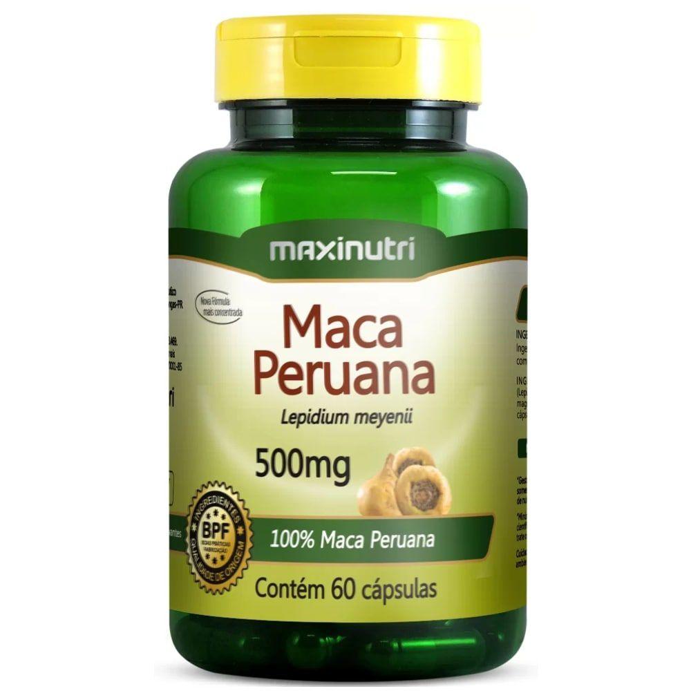 Maca Peruana 60 Cápsulas - Maxinutri