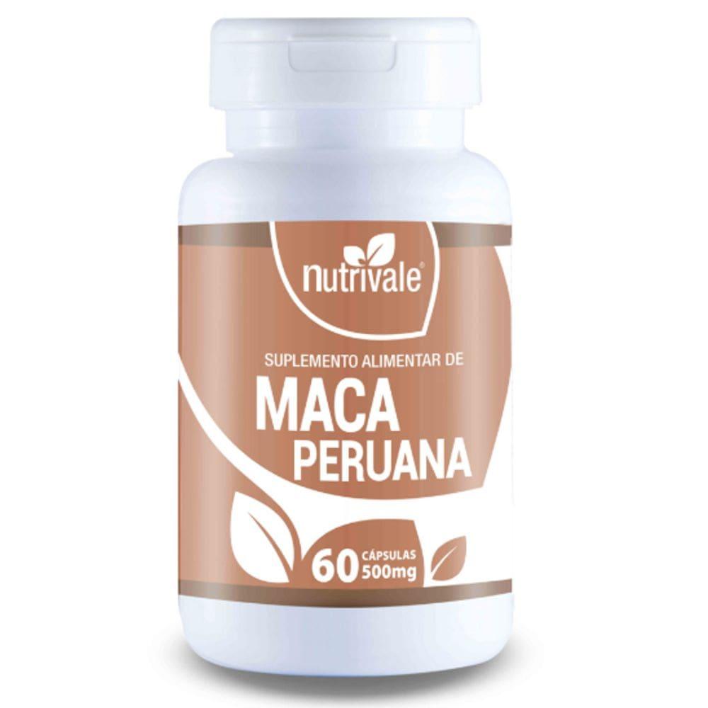 Maca Peruana 60 cápsulas - Nutrivale