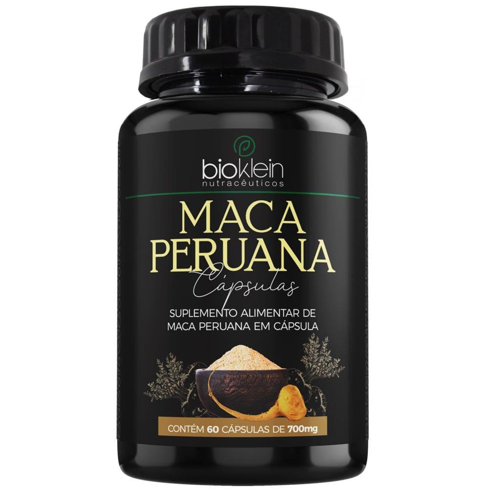 Maca Peruana 700 mg 60 cápsulas - Bioklein