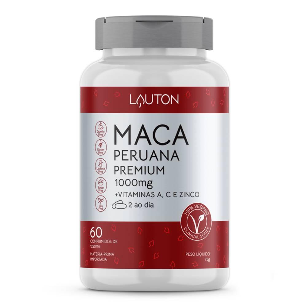 Maca Peruana Premium 1000mg 60 comprimidos - Lauton Nurition
