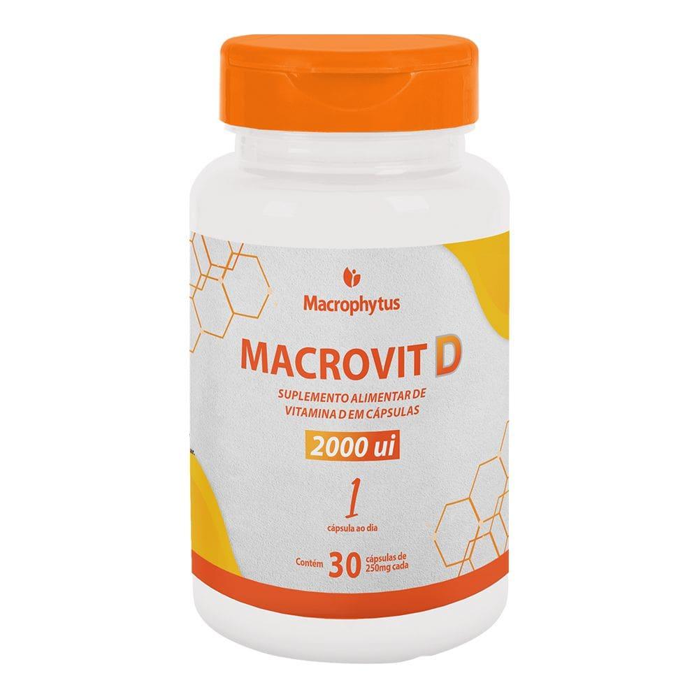 Macrovit D 2000UI 30 cápsulas - Macrophytus