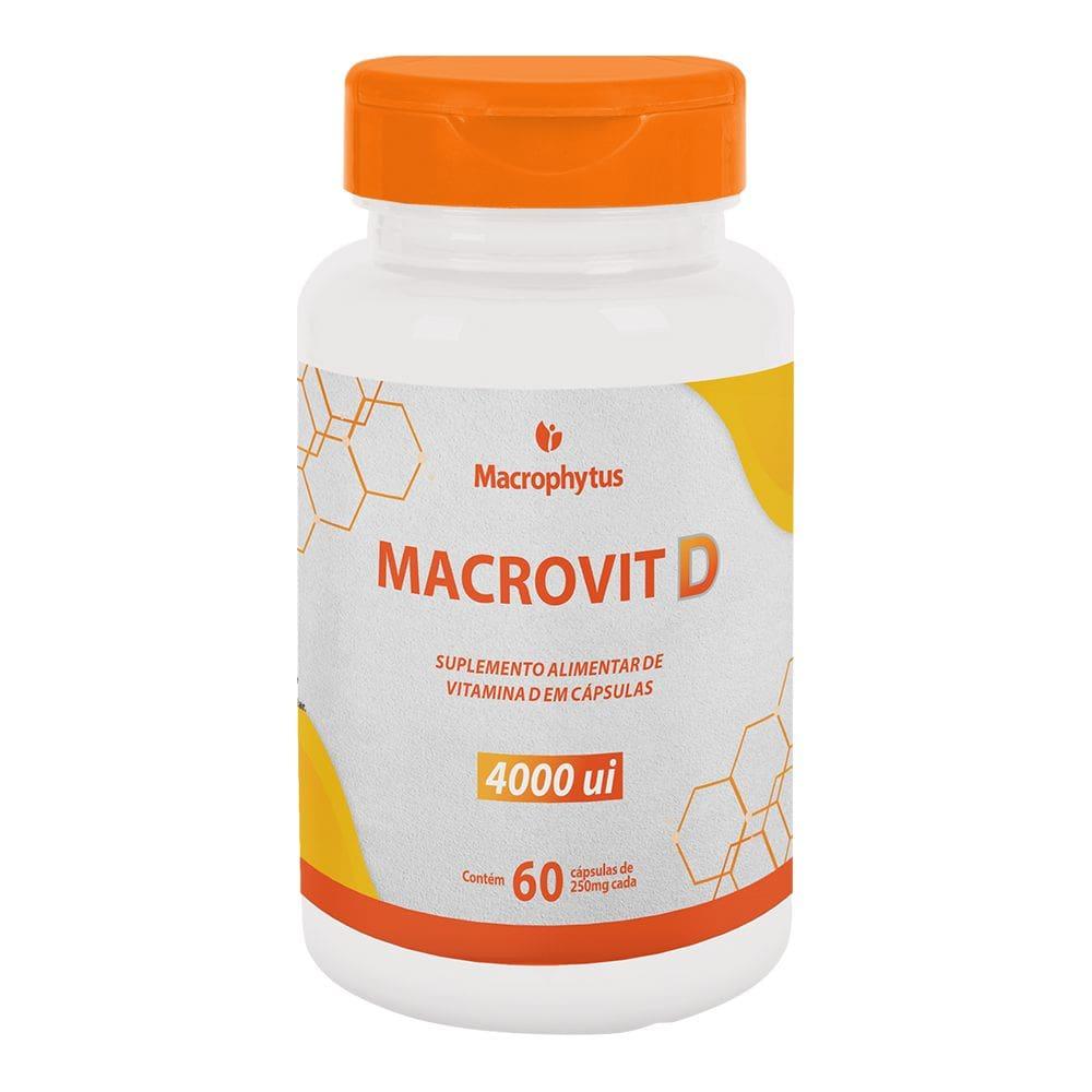 Macrovit D 4000UI 60 cápsulas - Macrophytus