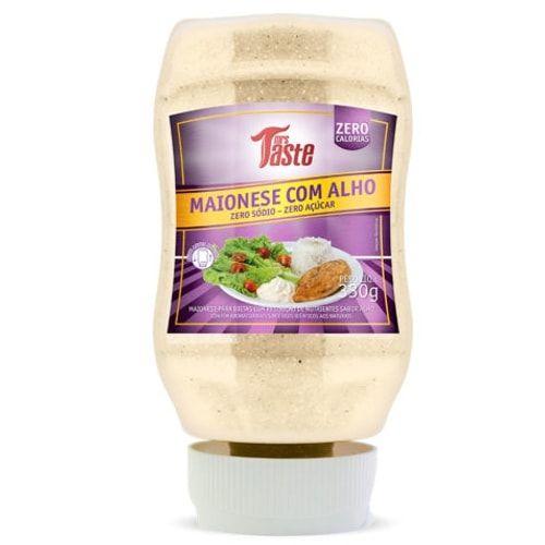 Maionese Com Alho 330g - Mrs Taste  - Personall Suplementos