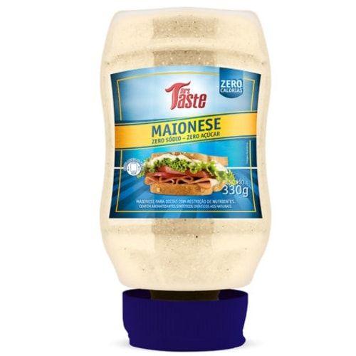 Maionese Zero 330g - Mrs Taste  - Personall Suplementos