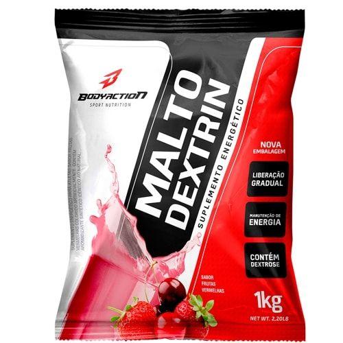 Maltodextrin 1kg - Body Action  - Personall Suplementos