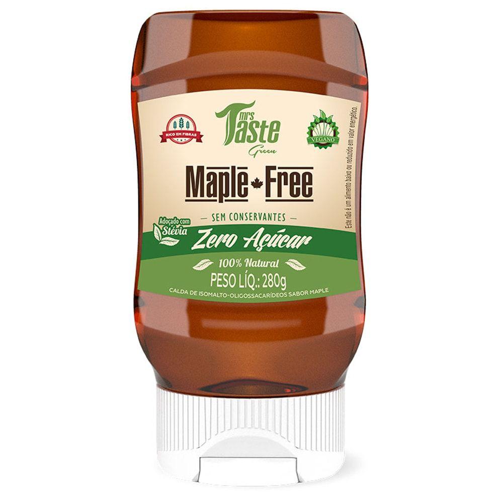 Maple-Free 280g – Mrs Taste Green  - Personall Suplementos
