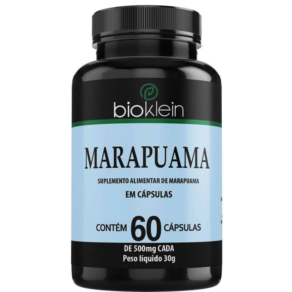 Marapuama 500mg 60 cápsulas - Bioklein