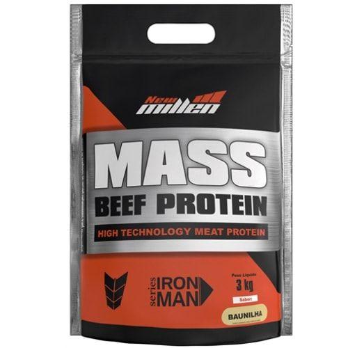 Mass Beef Protein 3kg - New Millen   - Personall Suplementos