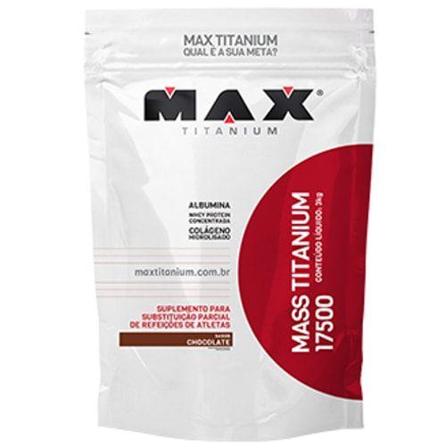 Mass Titanium 17500 3KG - Max Titanium   - Personall Suplementos