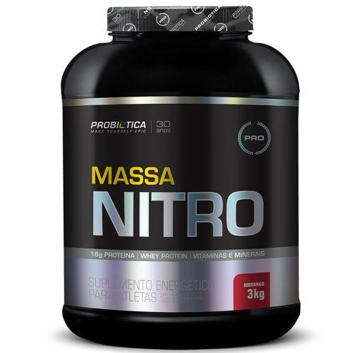 Massa Nitro 3kg - Probiotica   - Personall Suplementos