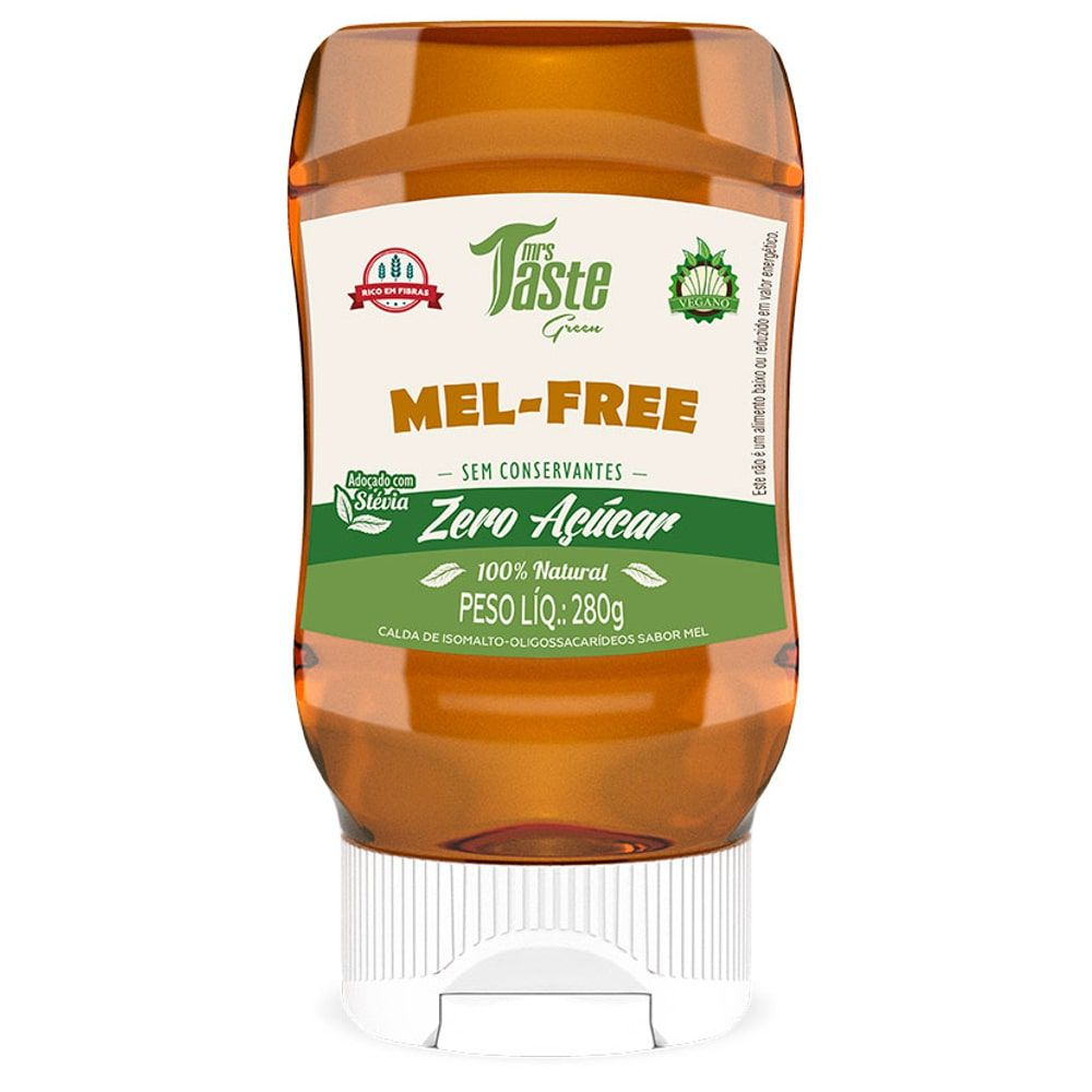 Mel-Free 280g – Mrs Taste Green  - Personall Suplementos