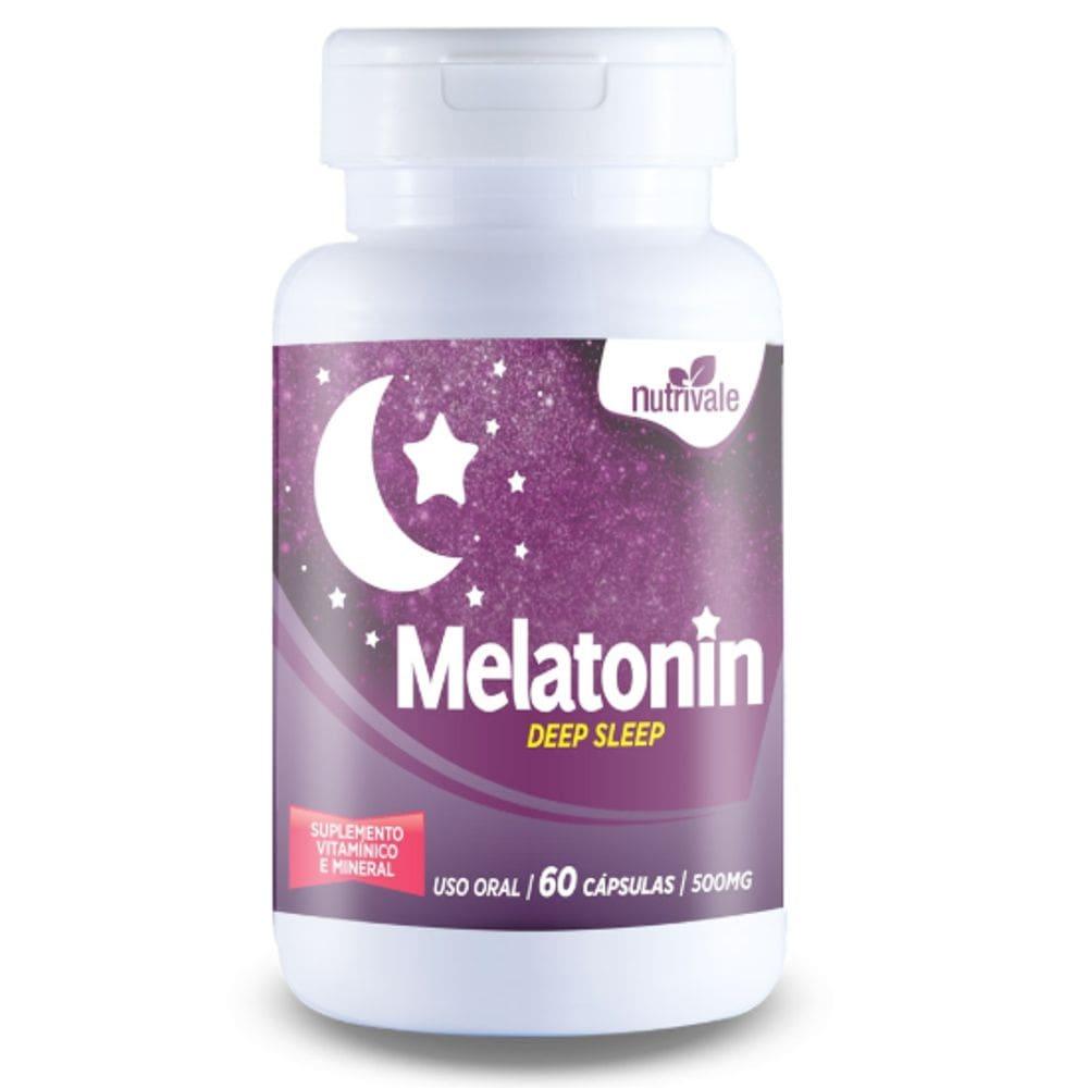 Melatonin 60 cápsulas - Nutrivale