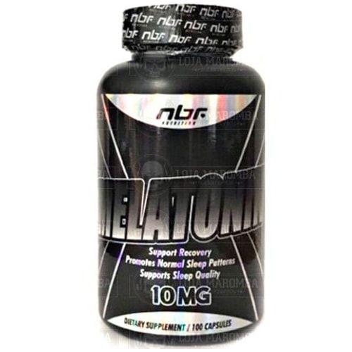 Melatonina 10mg - 100caps - NBF  - Personall Suplementos