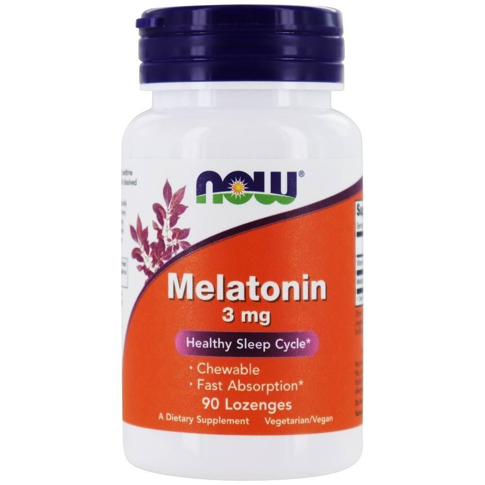Melatonina 3mg 90 comprimidos - Now Foods