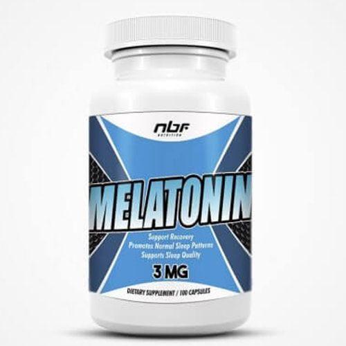 Melatonina 3mg 100caps - NBF  - Natulha