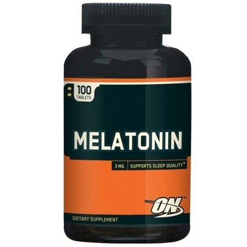 Melatonina 3mg 100comp - Optimum