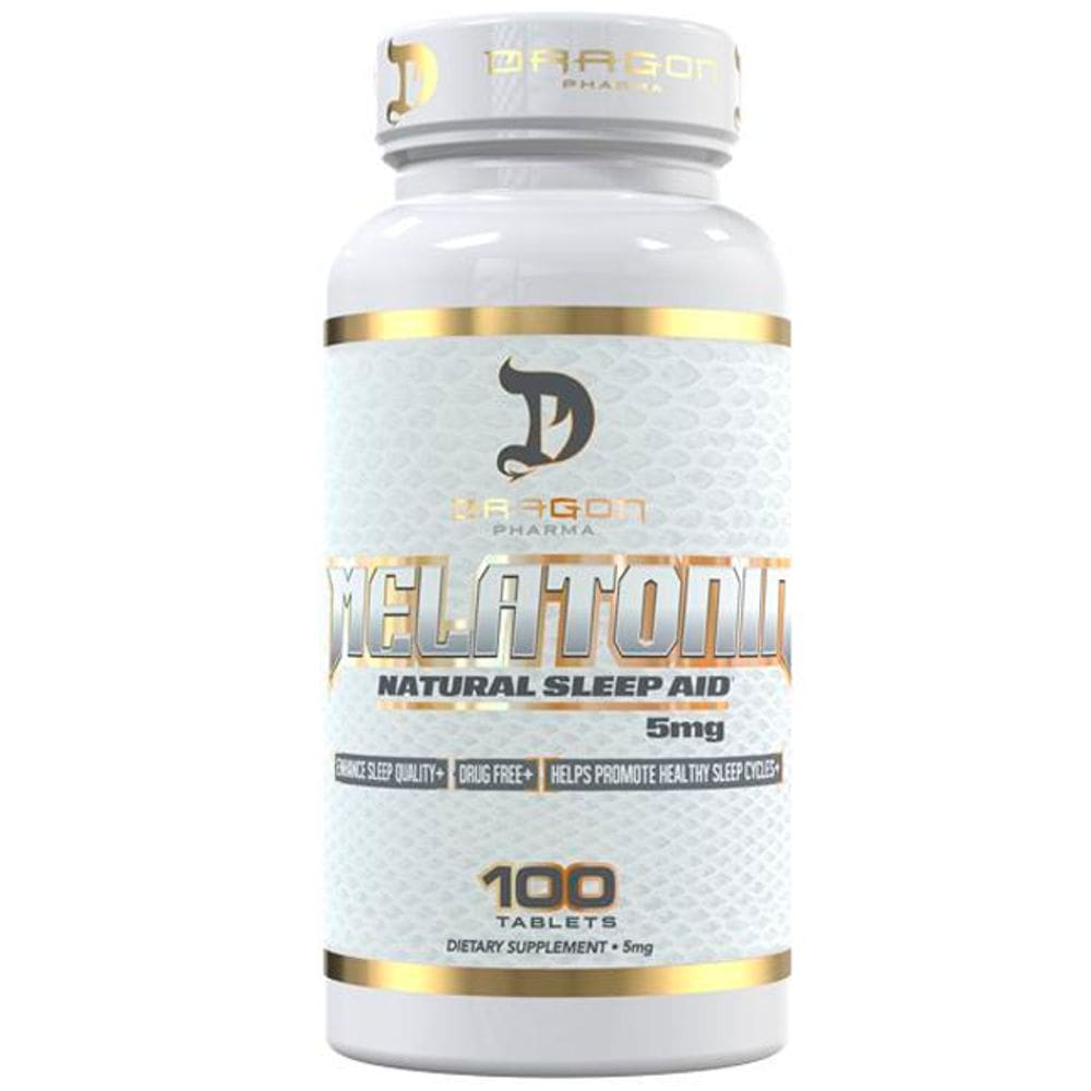 Melatonina 5mg 100 comprimidos - Dragon Pharma