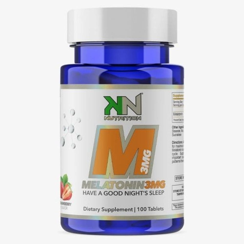 Melatonina Sublingual 3mg 100 comprimidos - KN Nutrition
