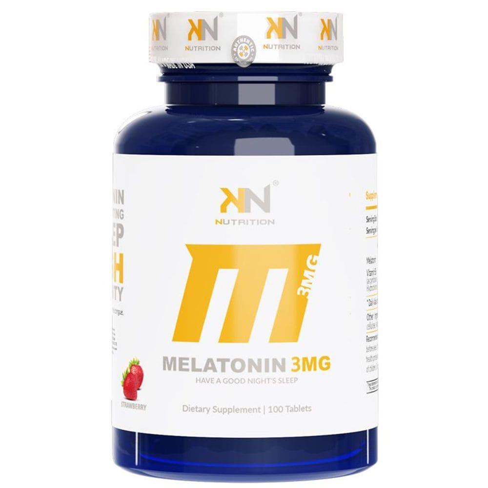 Melatonina Sublingual 3mg 100 comprimidos - KN Nutrition
