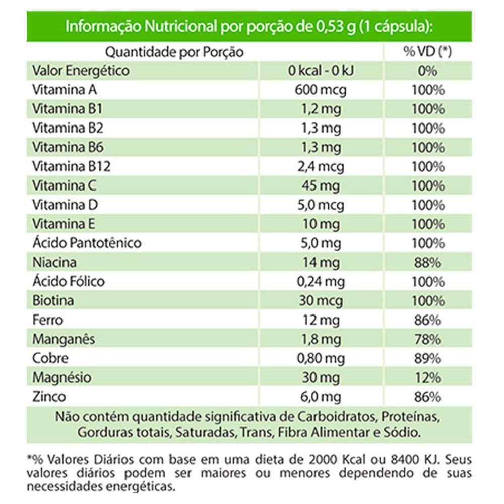 MemorioVit 30 cápsulas - Macrophytus  - Natulha