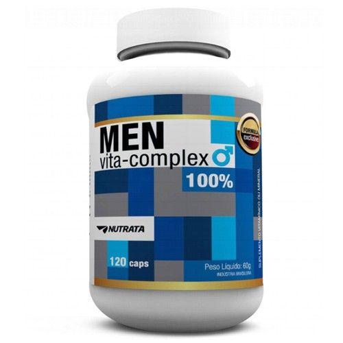 Men Vita Complex 120caps - Nutrata  - Personall Suplementos